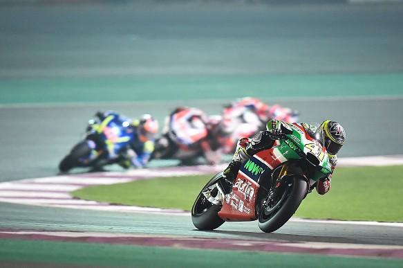 Aleix Espargaro, Aprilia, Qatar MotoGP 2017