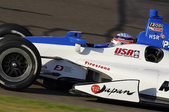 Takuma Sato Fontana IndyCar 2012