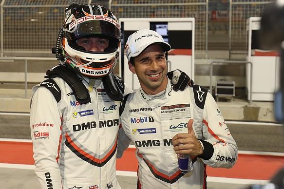 Jani Tandy Porsche LMP1 Bahrain WEC 2017