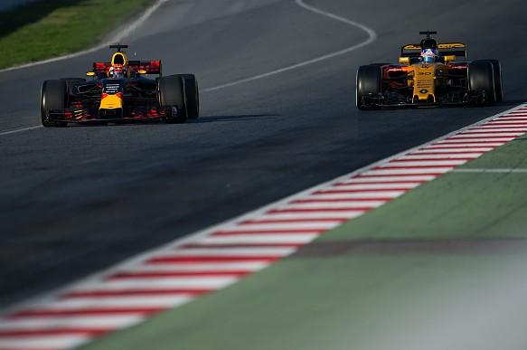 Red Bull, Renault, Formula 1 pre-season testing Barcelona 2017