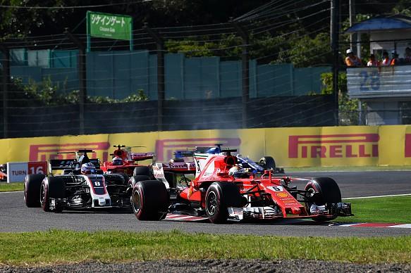 Sebastian Vettel Ferrari Japanese GP