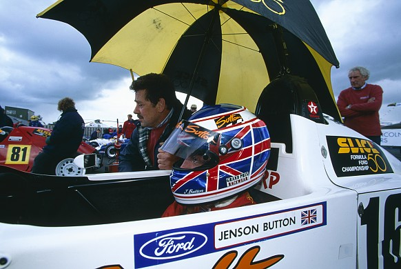 Jenson Button Formula Ford 1998