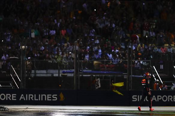 Max Verstappen Red Bull Singapore Grand Prix 2017