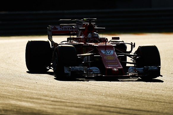Charles Leclerc Ferrari Hungary F1 test 2017