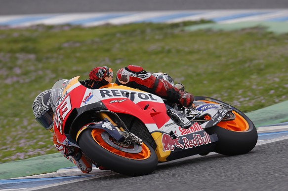 Marc Marquez, Honda, Jerez MotoGP testing 2017