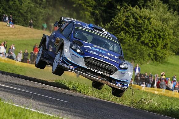 Ott Tanak M-Sport Ford WRC Germany 2017