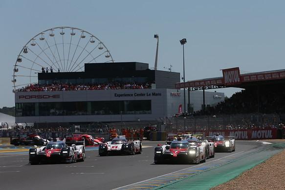 Le Mans 24 Hours 2017 race start