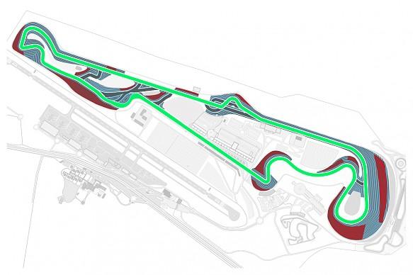 Paul Ricard grand prix layout