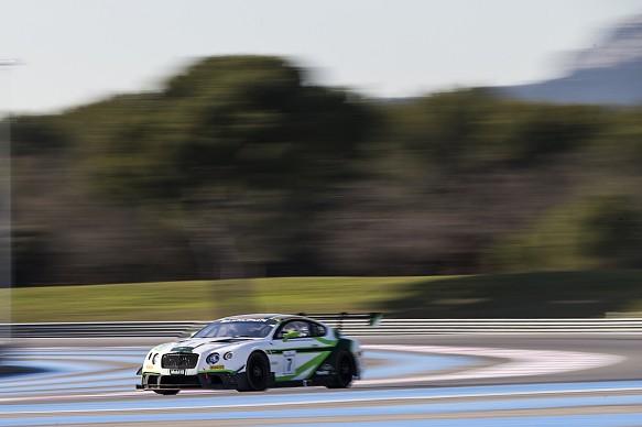 Bentley Continental GT3 testing, 2016