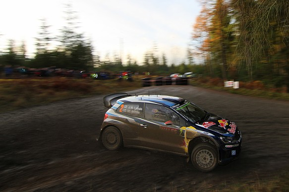 Jari-Matti Latvala, VW, WRC GB 2015