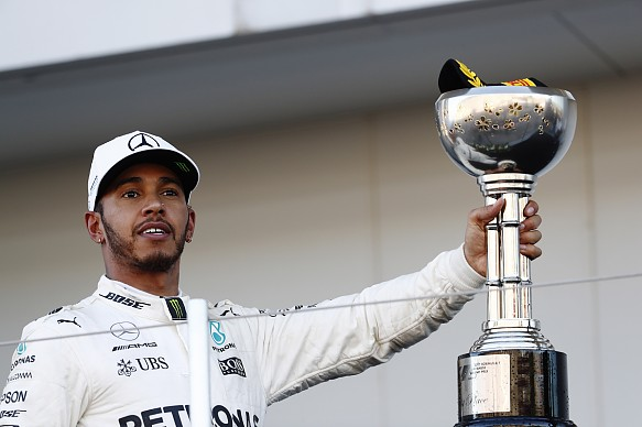 Lewis Hamilton Japanese Grand Prix 2017