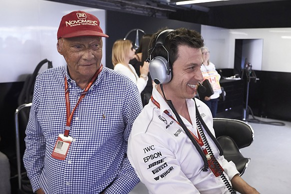 Lauda Wolff Mercedes F1 2017