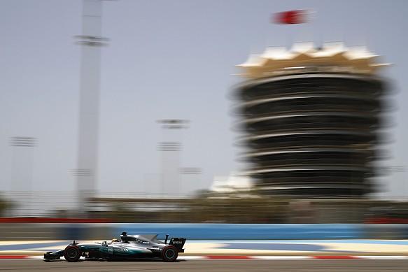 Lewis Hamilton, Mercedes, Bahrain F1 test 2017