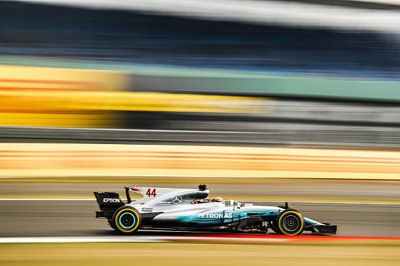 Lewis Hamilton Mercedes F1 British GP 2017