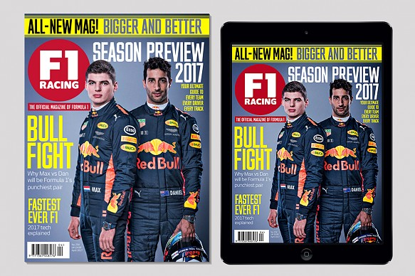 New F1 Racing magazine