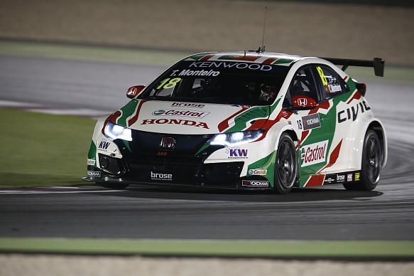 Tiago Monteiro, Honda, WTCC Qatar 2016
