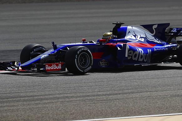 Sean Gelael, Toro Rosso, Bahrain F1 test 2017