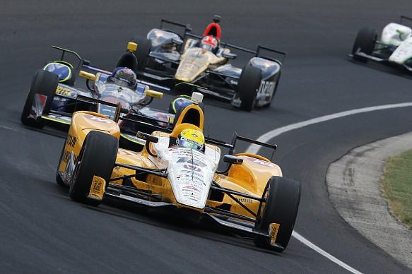 Spencer Pigot Rahal Letterman Lanigan Racing Indianapolis 500 2016