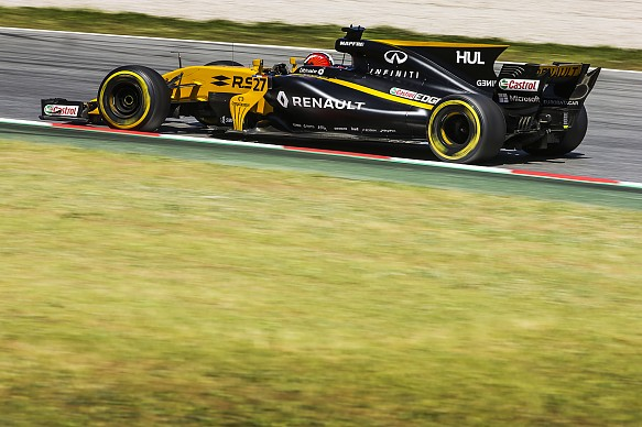 Nico Hulkenberg Renault F1 2017