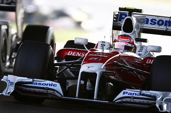 Timo Glock Toyota Japanese Grand Prix 2009