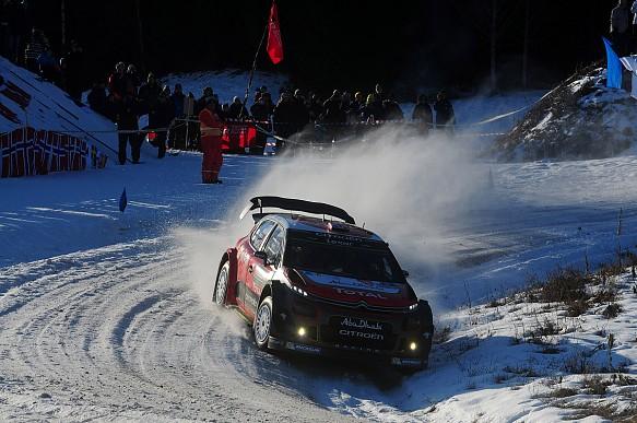 Kris Meeke, Citroen, WRC Rally Sweden 2017