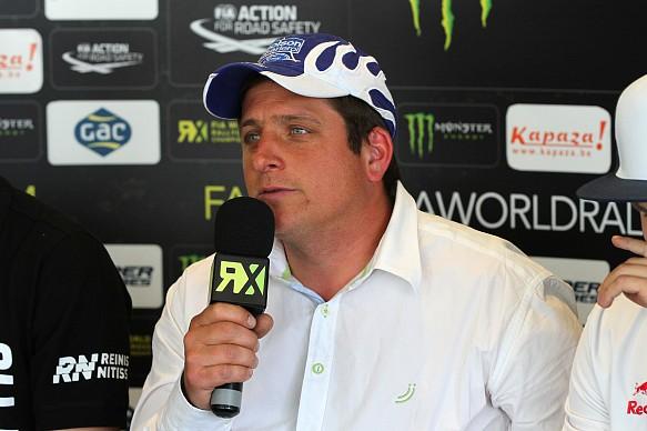 Francois Duval World Rallycross