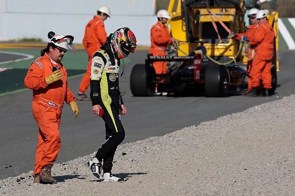 Brendon Hartley Formula Renault 3.5 2011