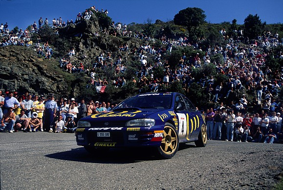 Colin McRae Subaru WRC 1995