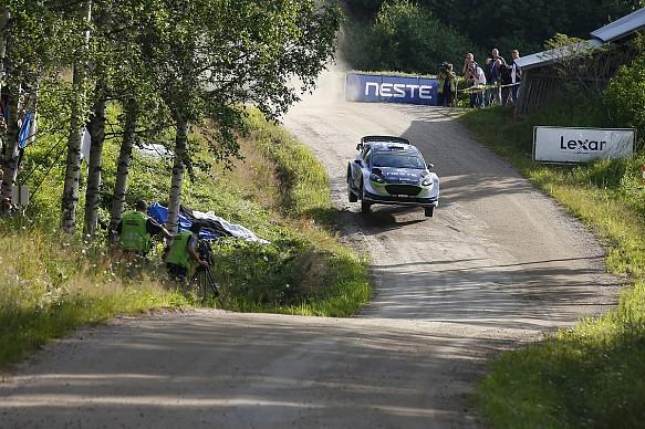 Teemu Suninen M-Sport Ford WRC Finland 2017