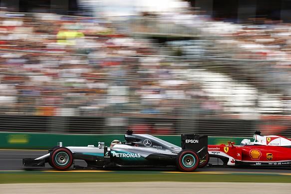 Lewis Hamilton Mercedes, Sebastian Vettel Ferrari, F1 2016