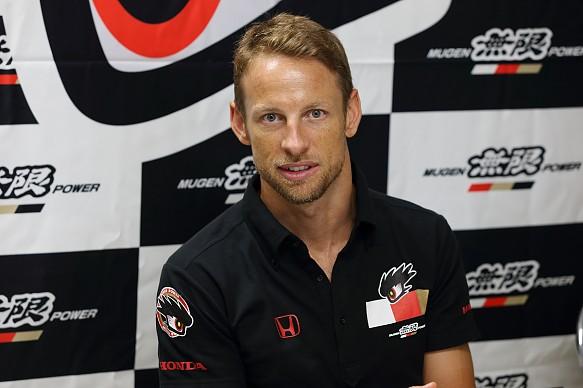 Jenson Button Super GT 2017