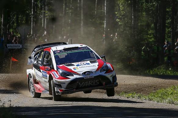 Esapekka Lappi Toyota WRC Finland 2017