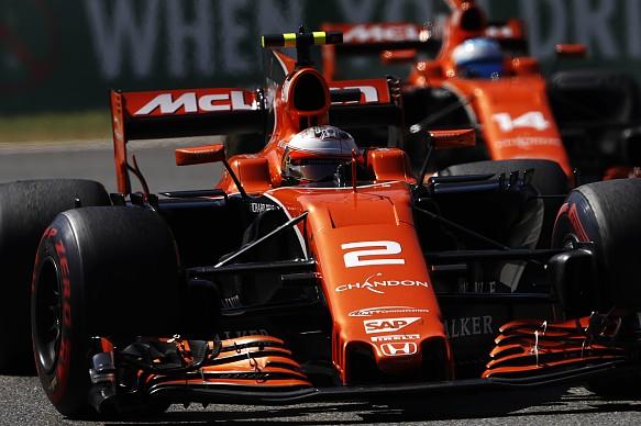 McLaren Italian GP 2017