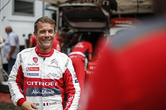 Sebastien Loeb Citroen test