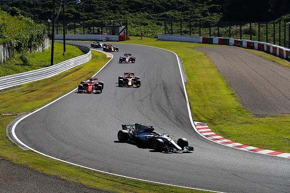 Hamilton Vettel Verstappen Japanese Grand Prix 2017