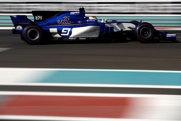 Marcus Ericsson Sauber Abu Dhabi GP 2017