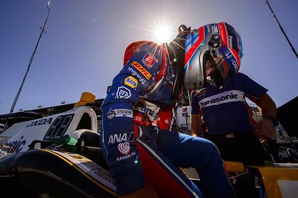 Takuma Sato Andretti Sonoma IndyCar 2017