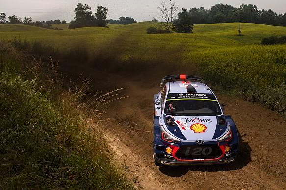 Thierry Neuville Hyundai WRC Rally Poland 2017