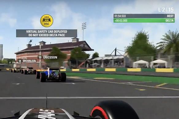 F1 2016, VSC