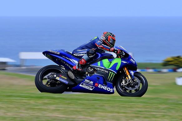 Maverick Vinales, Yamaha, Phillip Island MotoGP test 2017