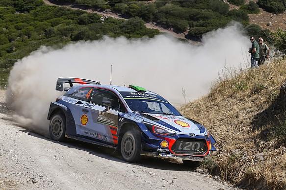 Hayden Paddon Hyundai WRC Italy 2017