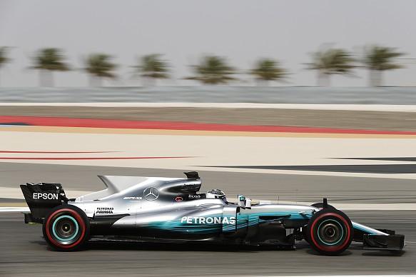 Valtteri Bottas, Mercedes, Bahrain F1 test 2017
