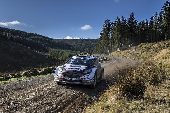 Elfyn Evans M-Sport WRC Rally GB 2017