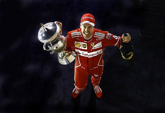 Sebastian Vettel Bahrain GP F1 2017