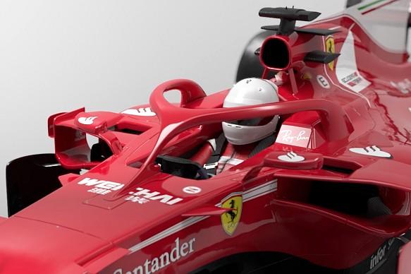 F1 halo 3D image Motorsport.tv