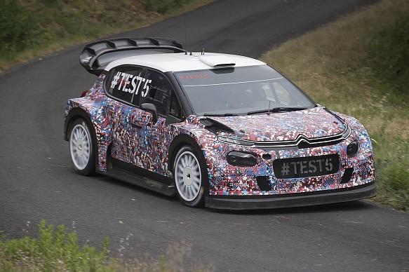 Citroen 2017 WRC testing