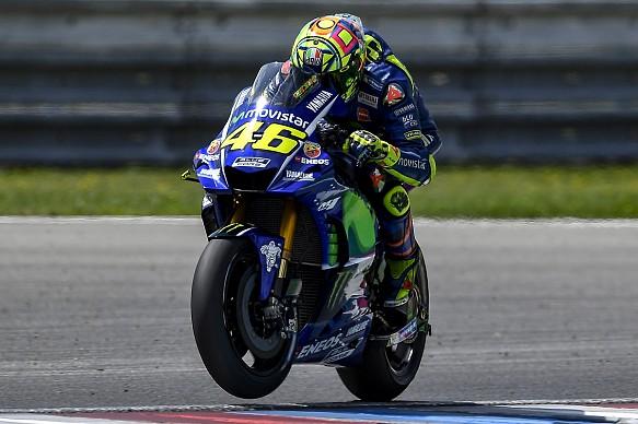 Valentino Rossi Yamaha Brno MotoGP test 2017