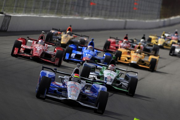 Justin Wilson Pocono IndyCar 2015