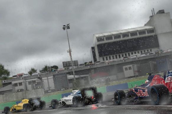 F1 2016, racing