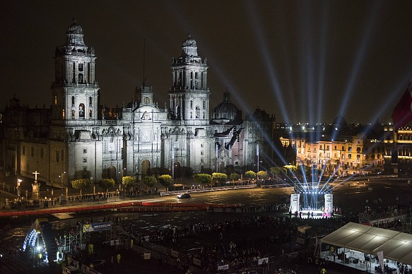 Zocalo, Mexico City, Rally Mexico 2017